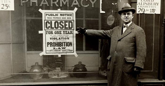 Il proibizionismo cover