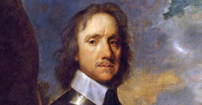 Prima Rivoluzione Inglese - Ritratto di Oliver Cromwell