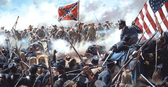Guerra di secessione americana cover
