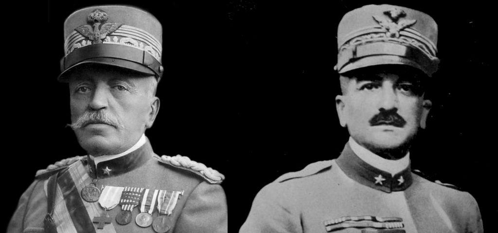 I Generali Luigi Cadorna e Armando Diaz