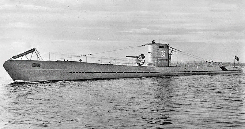 Un U-Boot tedesco, l'U-25