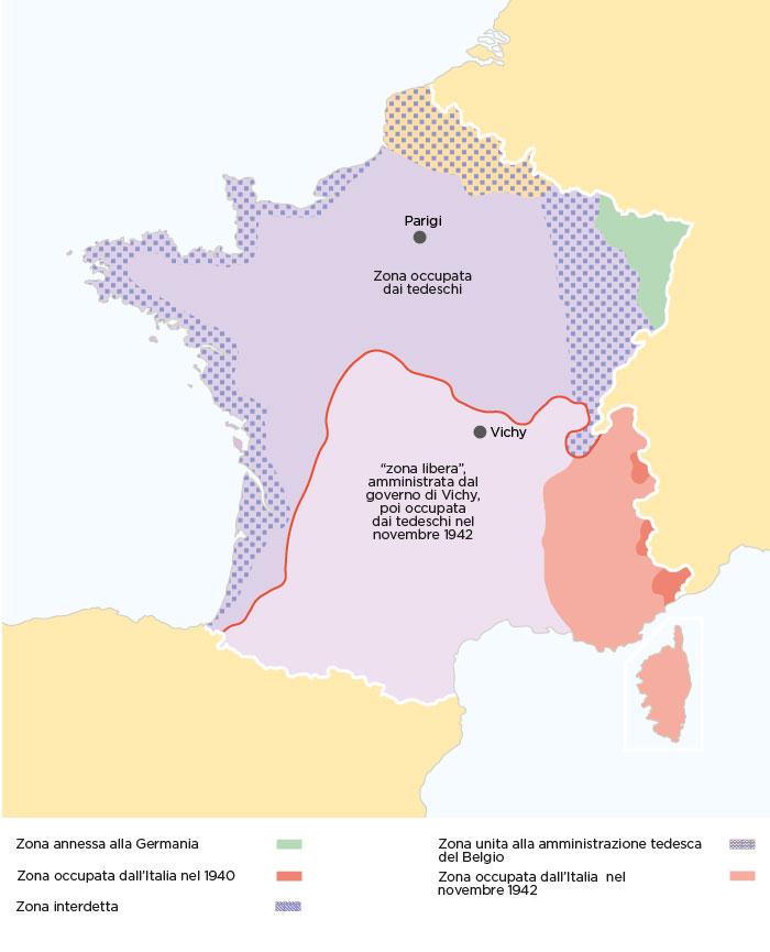 La Francia divisa dopo essere stata sconfitta dalla Germania