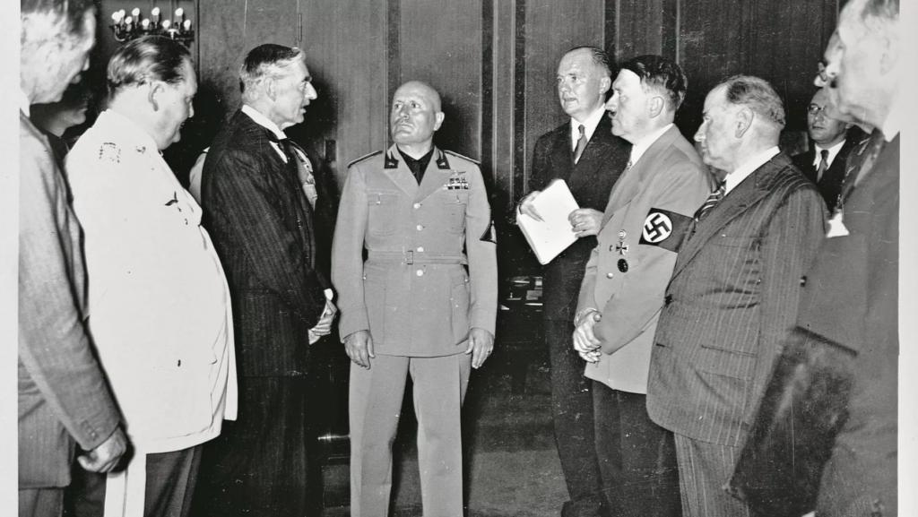 La conferenza di Monaco del settembre 1938