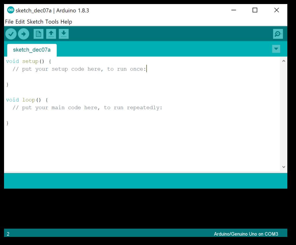 IDE di Arduino